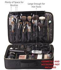 Rownyeon Large Makeup Case Travel Bag Organizer Professional Make Up Artist