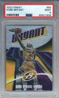2003-04 Topps Finest Kobe Bryant #88 Los Angeles Lakers PSA 9
