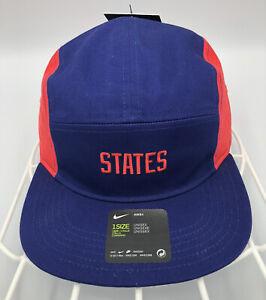Nike AW84 United States USA Soccer Football SnapBack Hat Cap Olympics NEW