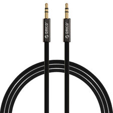 ORICO 2M 6FT Male-Male 3.5mm Stereo Audio Headphone Aux Cable Cord For MP3 Ip AU