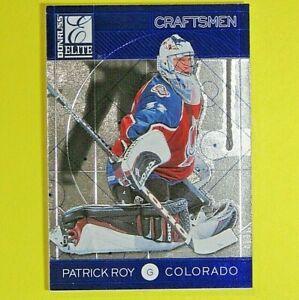 PATRICK ROY  1997-98  ELITE CRAFTSMEN  0024/2500  #14 of 30  Colorado Avalanche