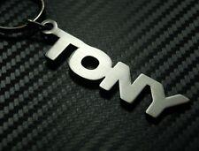 TONY personalizzato con nome portachiavi SU MISURA ACCIAIO INOX REGALO