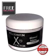 Millennium X Factor Odourless Acrylic Powder 150ml - CLEAR - FREE & FAST P&P