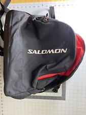 Salomon Ski Boot Bag Black And Red Preowned
