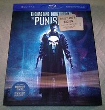 The Punisher (Blu-ray, 2009, Canada) with 3D Lenticular Slipcover Like New