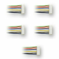 Digitrax DHWH ~ New 2020 ~ 9 Pin To Bare Wire Harness ~ 5 Pack