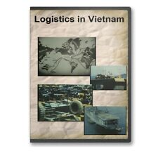 Logistics in Vietnam War Support Big Picture Documentary DVD - A857