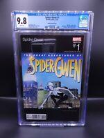 Spider-Gwen #1 CGC 9.8 Hip Hop Ramos Variant Slick Rick Homage (Marvel 2015)