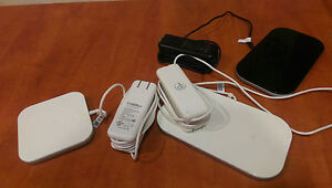 3 Duracell Powermats Wireless Iphone Charging Station Black White Battery Dual