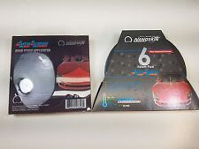 "Nanoskin AS-006 6"" Autoscrub Fine Blue Foam Clay Pad with Hand Strap Applicator"