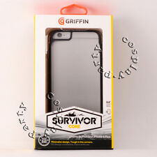 Griffin Survivor Core Protective Case iPhone 6 Plus iPhone 6s Plus Smoke Clear