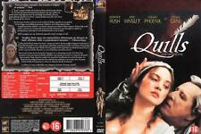 QUILLS with Kate Winslet Michael Caine - NEW DVD FREE POST mmoetwil@hotmail.com