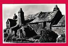 Two unposted cards, different views of The Old Post Office, Tintagel, Cornwall