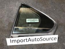 2009-2014 ACURA TSX REAR DRIVER DOOR QUARTER WINDOW GLASS OEM USED