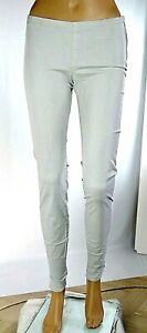 Pantaloni Donna MET Italy Slim Fit C758 Grigio Chiaro Tg 27 veste piccolo