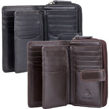Visconti Real Leather Medium 18 Card RFID Gift Boxed Purse Best Seller HT33