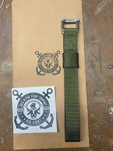 ZULU ALPHA STRAP Ranger Green Watch Strap For Sangin Instruments Watch NEW