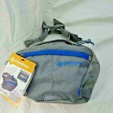 Waist Pack Bag OUTDOOR Product Gray 2 L Fanny Bum Belt Hiking Gear Essential New