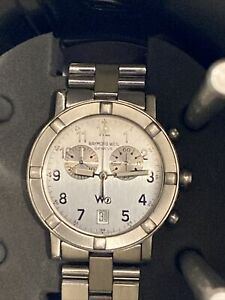 Raymond Weil Parsifal 8000 W1 Chronograph Men's wristwatch. Box + Documents VGC!