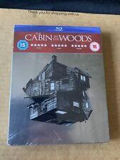 Cabin In The Woods HMV Exclusive Blu-ray Steelbook Rare OOP - New