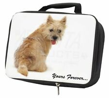 "Cairn Terrier Dog ""Yours Forever..."" Black Insulated School Lunch Bo, AD-CT1yLBB"