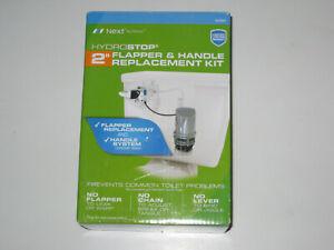 """NEW! Danco Hydrostop Toilet Tank 2"""" Flapper & Handle Replacement Repair Kit"""