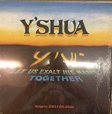 Y'SHUA Jews For Jesus Let Us Exalt His Name Together EX LP in Shrink 1982