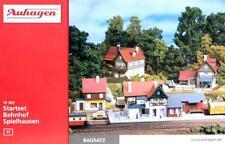 """Auhagen 15303 TT - Starterset """" Bahnhof Spielhausen """" vier Bausätze NEU & OvP"""
