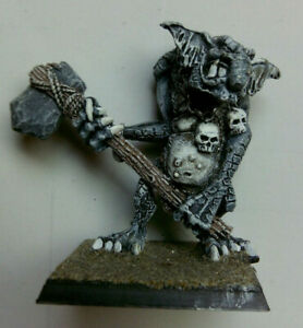 Games Workshop Warhammer Stone troll avec Stone Axe troggoth metal