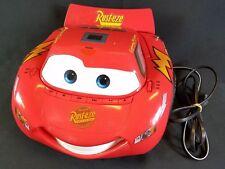 "Disney Movie 'Cars' ""RUST-EZE"" AM/FM Radio & CD Player ~ ""Lighting McQueen"""