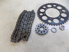 Yamaha YZF R1 16 47 Chain sprockets Front Rear 2007 Low miles