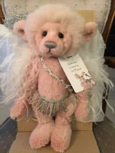 Charlie Bears APHRODITE & CUPID 2013 Isabelle Mohair Collection set matching #'s