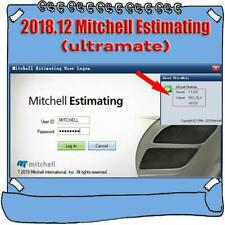 2019 New version for NEW MITCHELL ULTRAMATE 7 COMPLETE ADVANCED ESTIMATING SYSTE