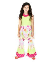 f33f17639ab Jelly The Pug Dots   Flowers Isabella Tunic   Pants - Girls Size  ...