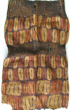 Rare African Dida Tie-Dye Raffia Ceremonial Woman's Tube Dress/Early 20th Cen.