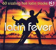 LATIN FEVER - 60 SIZZLING HOT LATIN TRACKS (NEW SEALED 3CD)