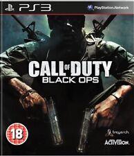 Call of Duty Black Ops (PS3, 2010) Region Free Disc Mint Brand New Case J1L