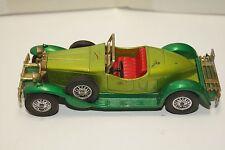 ORIGINAL Matchbox - 1931 Stutz Bearcat - Models of Yesteryear - No Y-14 - Green
