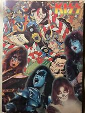 KISS First Visit to Japan Tour Pamphlet Kiss Japan Performance 1977 F/S