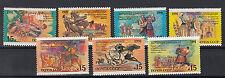 Russland Briefmarken 1991 Volksfeste Mi.Nr.6229-35 ** postfrisch