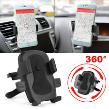 Universal Rotate Car Mount Holder Stand Air Vent Cradle Snap For Cell Phone GPS