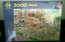Jumbo 3000 Piece Jigsaw Puzzle Jan Van Haasteren Farm Visit New & Sealed
