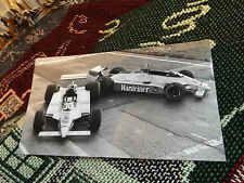 "8"" x 4"" F1 PHOTO - WARSTEINER ARROWS - RICCARDO PATRESE"