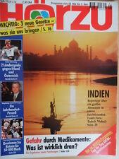 HÖRZU 21 -1994  TV vom 28.5. - 3.6. Indien-Report Fußball Jack Unterweger-Prozeß