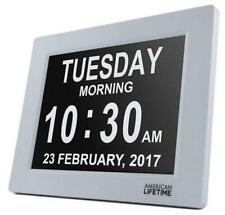 American Lifetime Day Clock Extra Large Symbols Digital Clock with Battery...