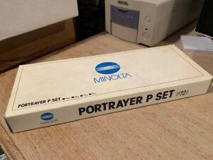 Minolta Portrayer Type p 72mm Set of 3, BRAND NEW