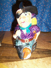 Shorter & Son Character Jug Long John Silver England 5 3/8 Inches