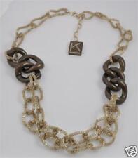 Luc Kieffer Bronze Necklace 18 inch