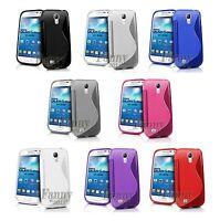 Soft Gel TPU Rubber Case Cover For Samsung Galaxy S4 Mini, i9195, LTE