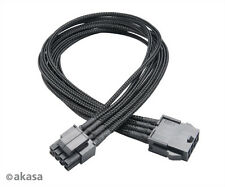 Akasa Flexa P8 40cm 8-pin to 8-pin (2 x 4-pin) CPU Power Extension